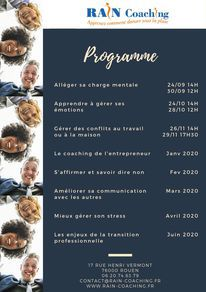 Programme année 2019-2020